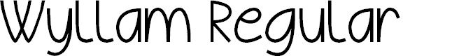 Preview image for Wyllam Regular Font