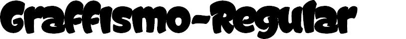 Preview image for Graffismo-Regular Font