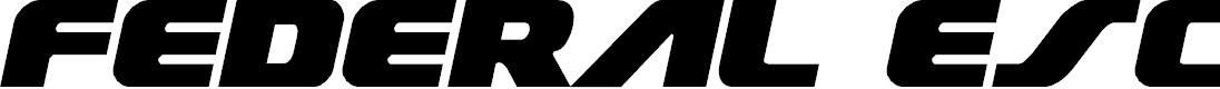 Preview image for Federal Escort Semi-Italic