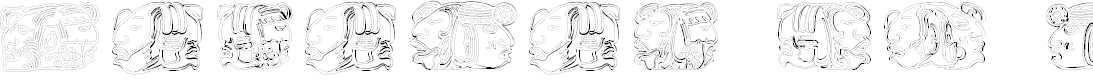 Preview image for Sipirit of Montezuma Four Font
