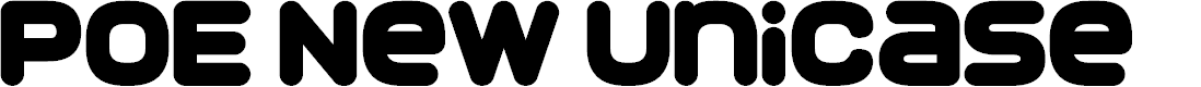 Preview image for POE New Unicase Font