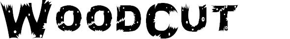 Preview image for WoodCut Font