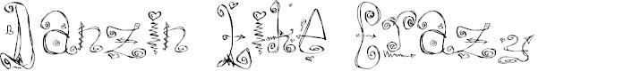 Preview image for Danzin Regular Font