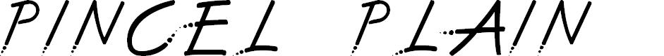 Preview image for Pincel 2 Plain Font