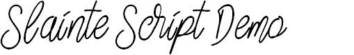 Preview image for Slainte Script Demo
