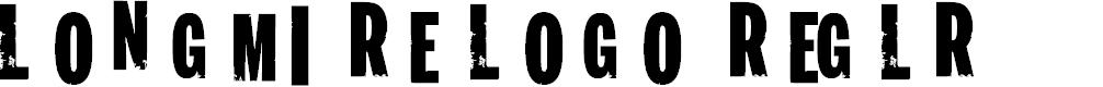 Preview image for Longmire Logo Regular Font