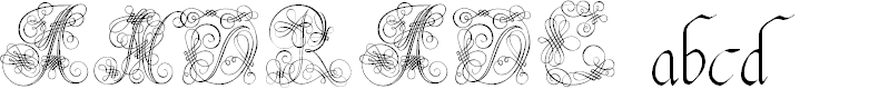 Preview image for Andrade Swash Font
