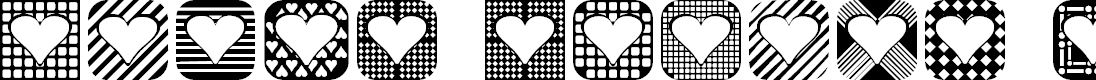 Preview image for Heart Things 2 Font