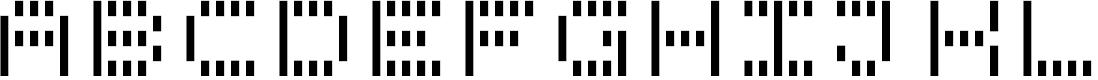 Preview image for BPdotsUnicaseVertical-Bold