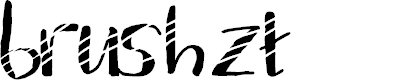 Preview image for brush zt Font