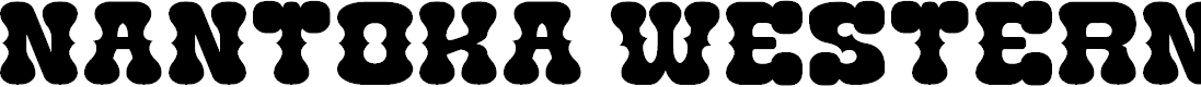Preview image for Nantoka Western Font