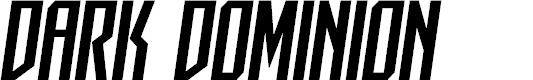 Preview image for Dark Dominion Semi-Italic