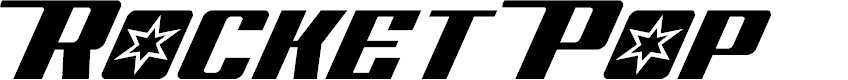 Preview image for Rocket Pop Font