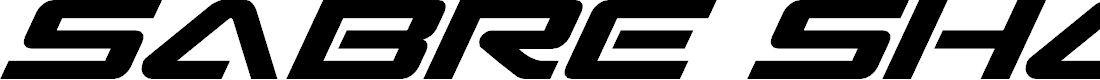 Preview image for Sabre Shark Font