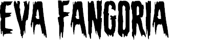 Preview image for Eva Fangoria Font