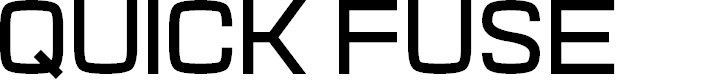 Preview image for Quick Fuse Font