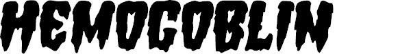 Preview image for Hemogoblin Semi-Italic
