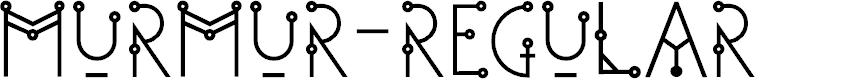 Preview image for Murmur-Regular Font
