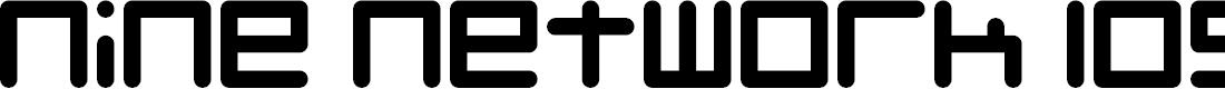 Preview image for Nine Network logo font Regular