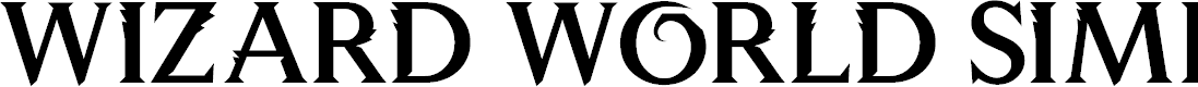 Preview image for Wizard World Simplified Font