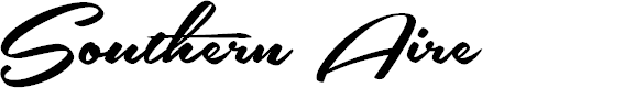Preview image for Southern Aire Personal Use Only Font