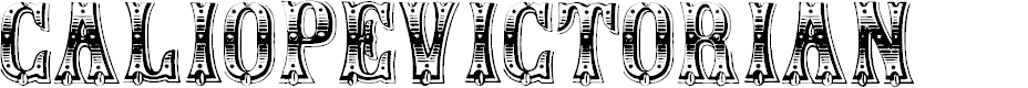 Preview image for CaliopeVictorian Font
