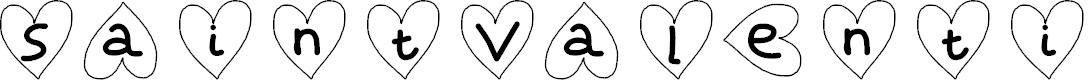 Preview image for SaintValentin Font