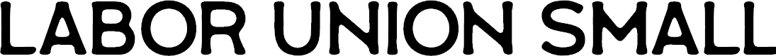 Preview image for Labor Union Small Font