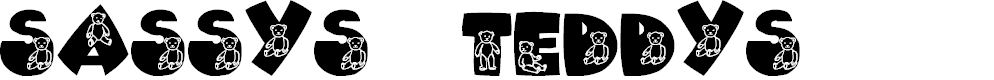 Preview image for Sassys Teddys 2 Font