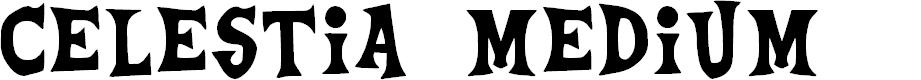 Preview image for Celestia Medium Font