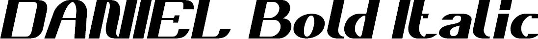Preview image for DANIEL Bold Italic