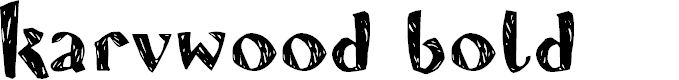 Preview image for Karvwood bold Font