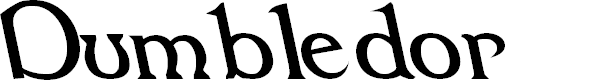 Preview image for Dumbledor 1 Rev Italic