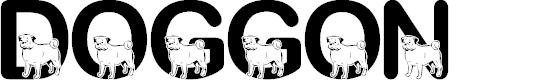 Preview image for JLR Doggon! Font