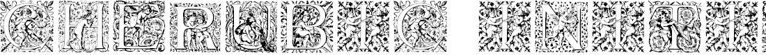 Preview image for CherubicInitials Font