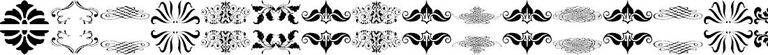 Preview image for Vintage Elements_08 Font