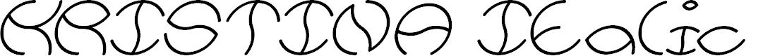 Preview image for KRISTINA Italic