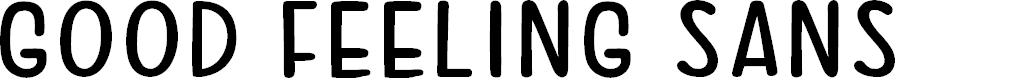 Preview image for Good Feeling Sans Font