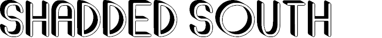 Preview image for Shadded South Font