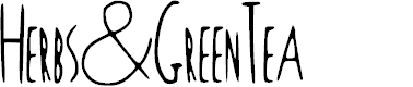 Preview image for Herbs_and_Green_Tea Font