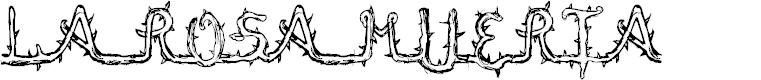 Preview image for La Rosa Muerta Font