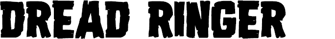 Preview image for Dread Ringer Font