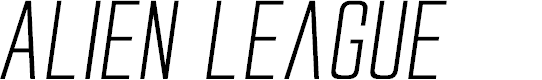 Preview image for Alien League II Expanded Italic