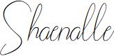 Shaenalle by Letter Deen