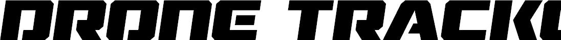 Preview image for Drone Tracker Semi-Italic