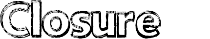 Preview image for Closure Font