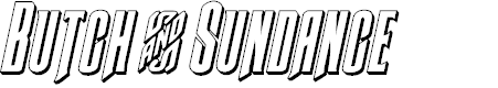 Preview image for Butch & Sundance 3D Italic