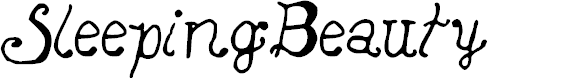 Preview image for SleepingBeauty Font