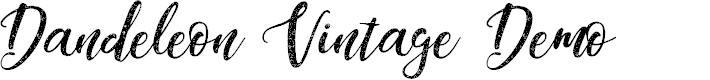 Preview image for Dandeleon Vintage Demo