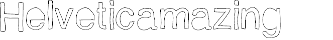 Preview image for Helveticamazing Font